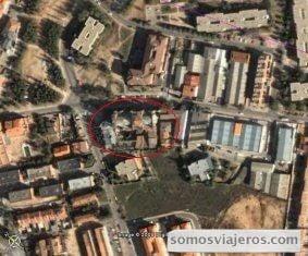 vista aerea de la ubicación de la catedral de don Justo