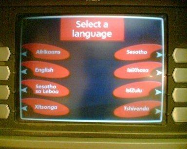 cajero multilingue