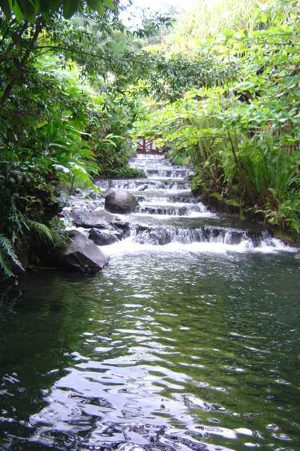 Cascada costa rica