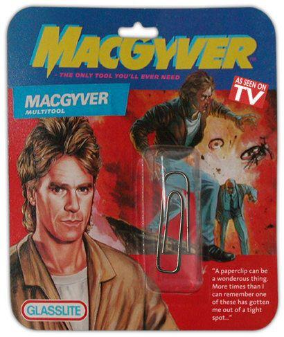 el clip de macgyver