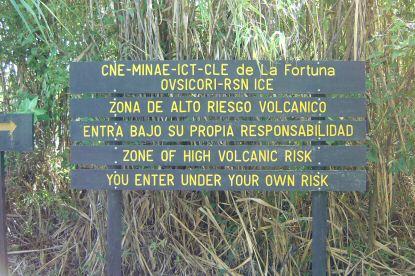 riesgo actividad volcánica