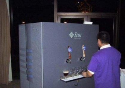 Servidor de ... cerveza