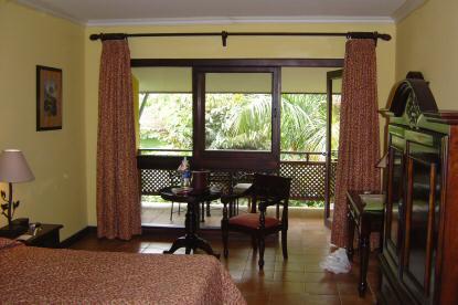 Habitación del Tabacón resort