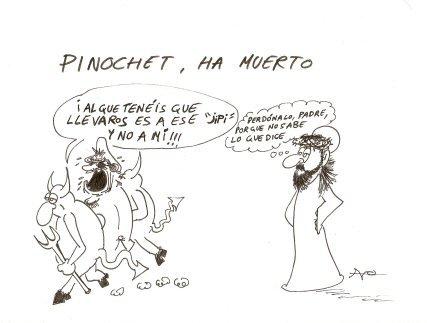 Pinochet al infierno