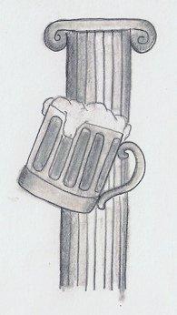 Columna y jarra