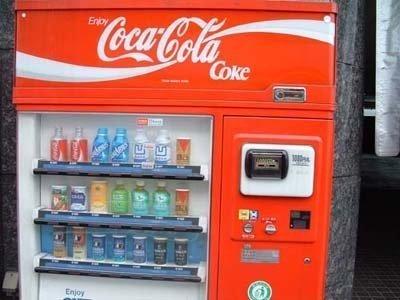 Máquinas de cocacolas