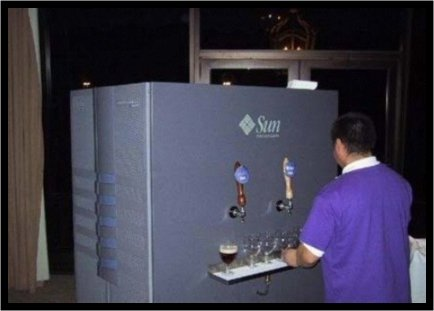 servidor cerveza