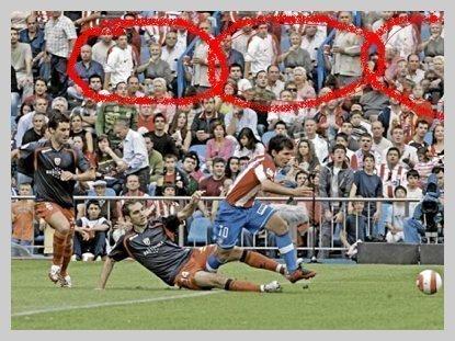 Photoshop llegó al terreno deportivo