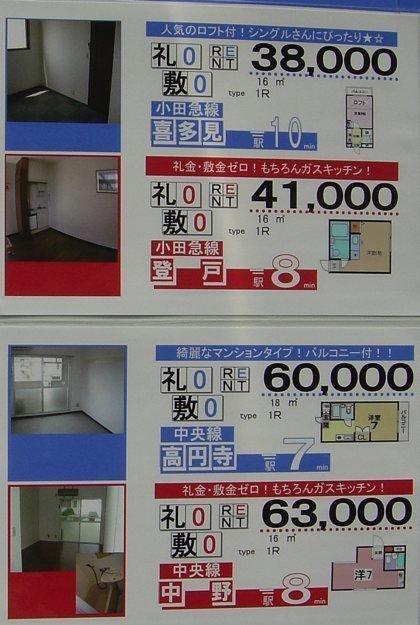 precios de pisos en Tokyo