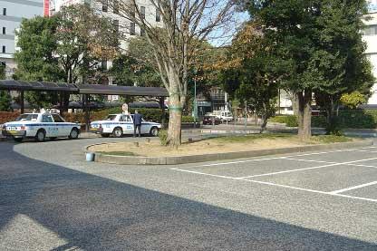 Calles límpias de hojas en Japón