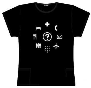 camiseta para comunicarse
