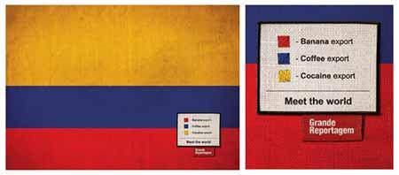 Colombia y cocaina