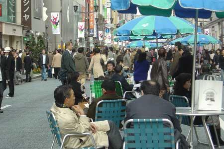 Ginza street en Tokyo