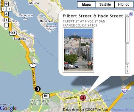 Elegir vista en San Francisco