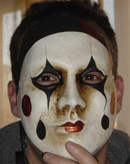 mi máscara de venecia