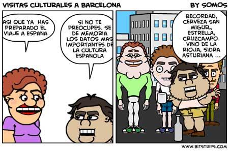 comic sobre barcelona
