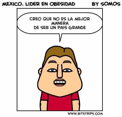 Mexico lider en obesidad