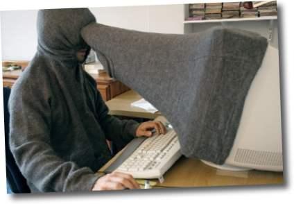 computadora en la intimidad