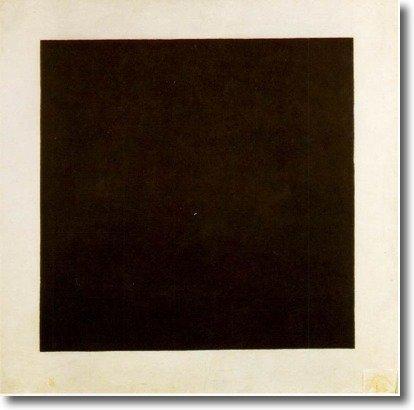 Obra del suprematismo de Malevich