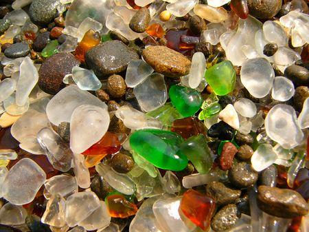 Playas cristalinas en Fort Bragg