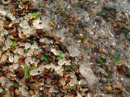 Fort Bragg - Playas cristalinas