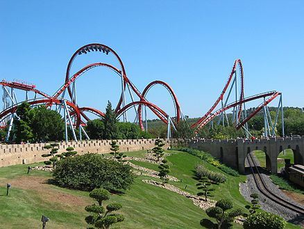 Dragon Khan en Port Aventura