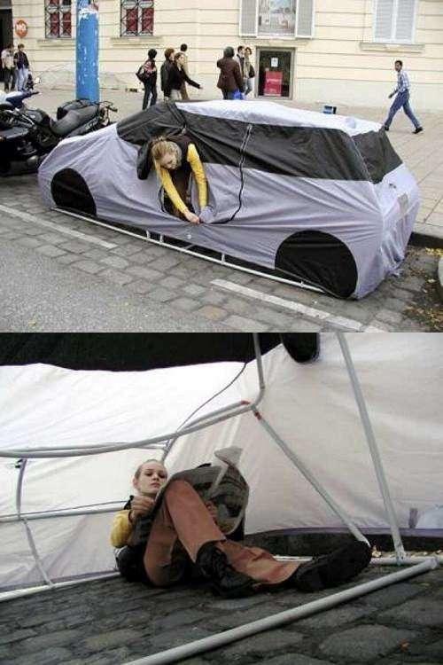 camping de ciudad