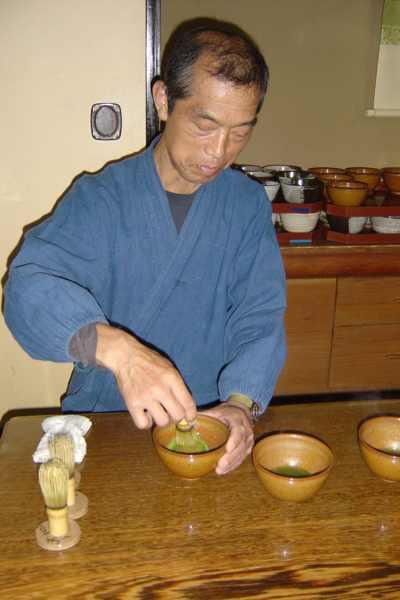ceremonia del té en kyoto