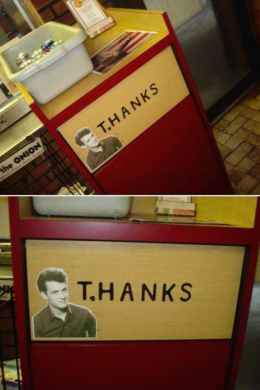 Gracias Tom Hanks