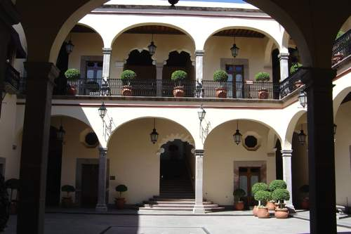 casona querétaro patio interior