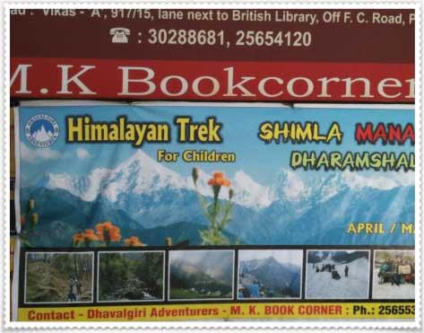 anuncio de excursión al Himalaya