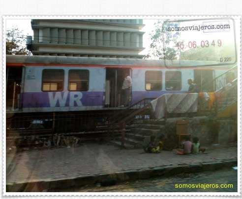 Tren en la India