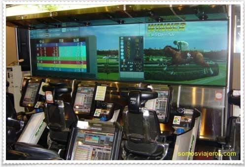Máquinas recreativas y de apuestas en Japón
