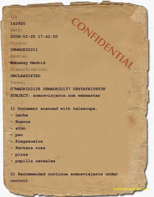 documento secreto somosviajeros