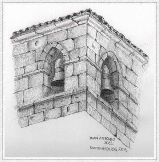 Dibujo de campanario