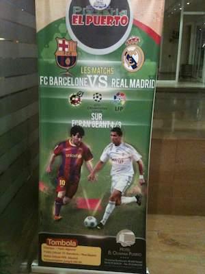 Vivir el clásico Barcelona-Madrid desde fuera de España