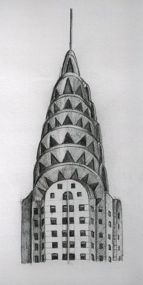 Edificios de Nueva York. El edificio Chrysler