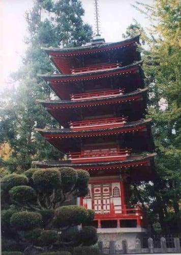 pagoda en el japanese tea garden san francisco © somosviajeros