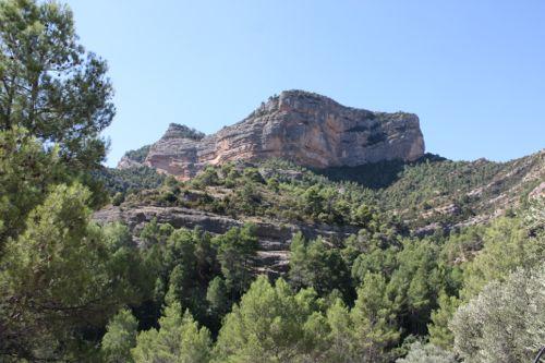 Ruta por algunos tolls o pozas en los puertos de Besseit en Tarragona
