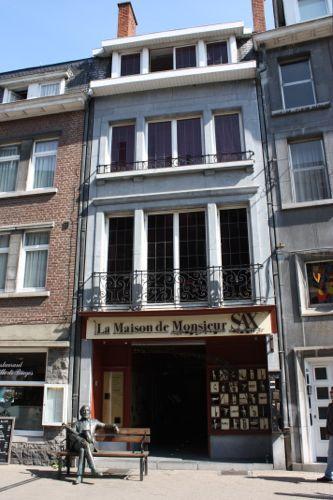 Casa Museo del Saxofon en Dinant