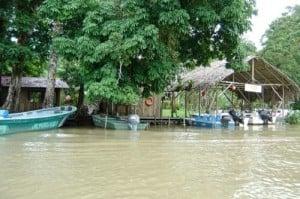 poblados de pescadores en Tortuguero (Costa Rica)