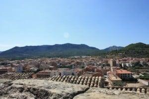 Vista desde el Castillo de Valderrobres
