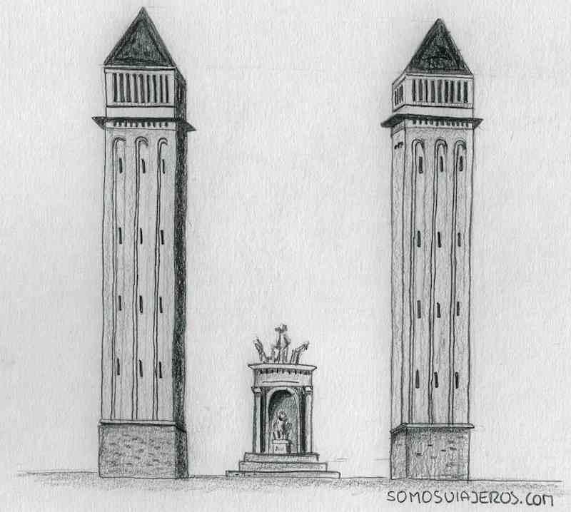 Maratón de Barcelona dibujada. Kilómetro cero.