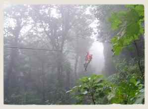 Canopy en Costa Rica