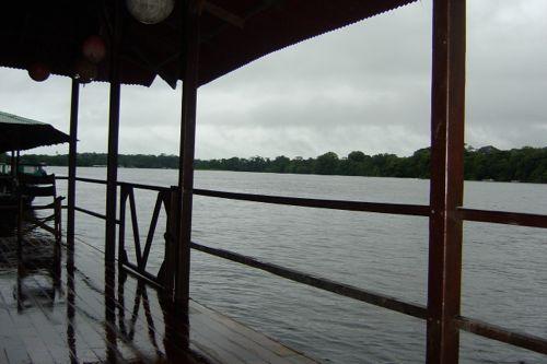 vistas a los canales desde el lodge
