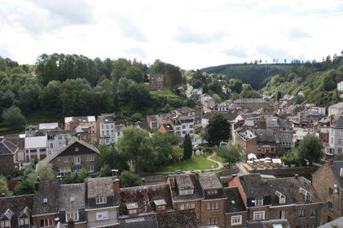 Vistas de La Roche desde el Castillo