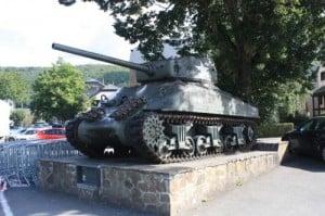 Tanque batalla de las Árdenas Ardenne