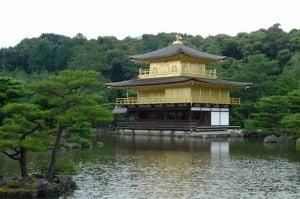 templo dorado japón
