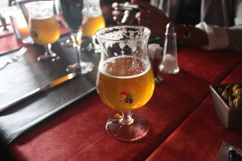 Cerveza Belga en La Roche