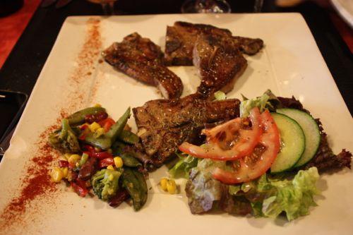 Segundo Plato restaurante maxime La Roche